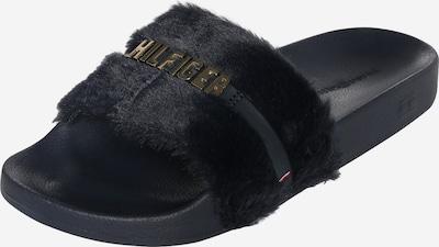 TOMMY HILFIGER Pantolette in schwarz, Produktansicht