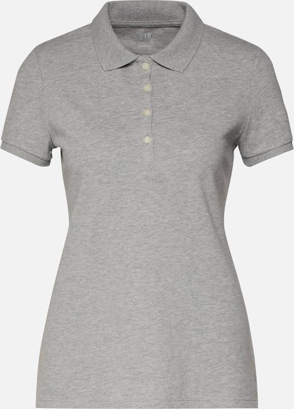 En Gap shirt T Polo' Chiné Gris 'pique 2IbHYEDeW9