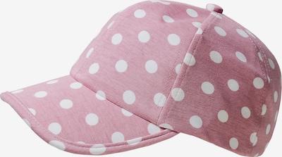 STERNTALER Cap in rosé / weiß, Produktansicht