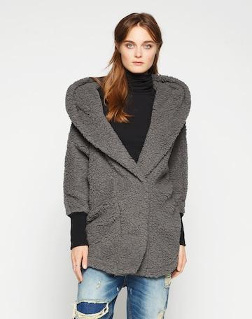 Noisy may Prechodný kabát 'Cuddle' - Sivá