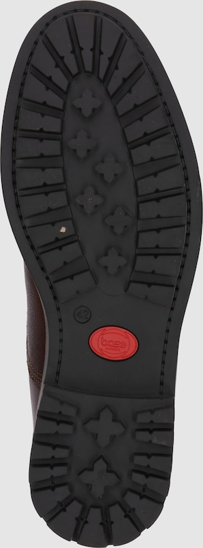 Haltbare Mode billige Schuhe base London | Schnürstiefelette 'PARTRIDGE' Schuhe Gut getragene Schuhe