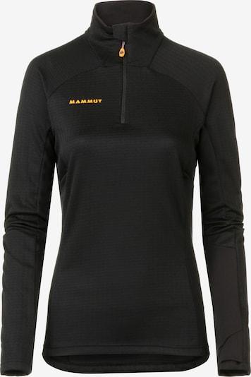 MAMMUT Funktionsshirt 'Moench Advanced' in schwarz, Produktansicht