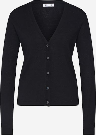 EDITED Strickjacke 'Lorraine' in schwarz, Produktansicht