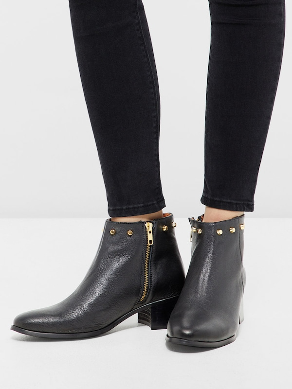 Bottes Bianco Rivets-top