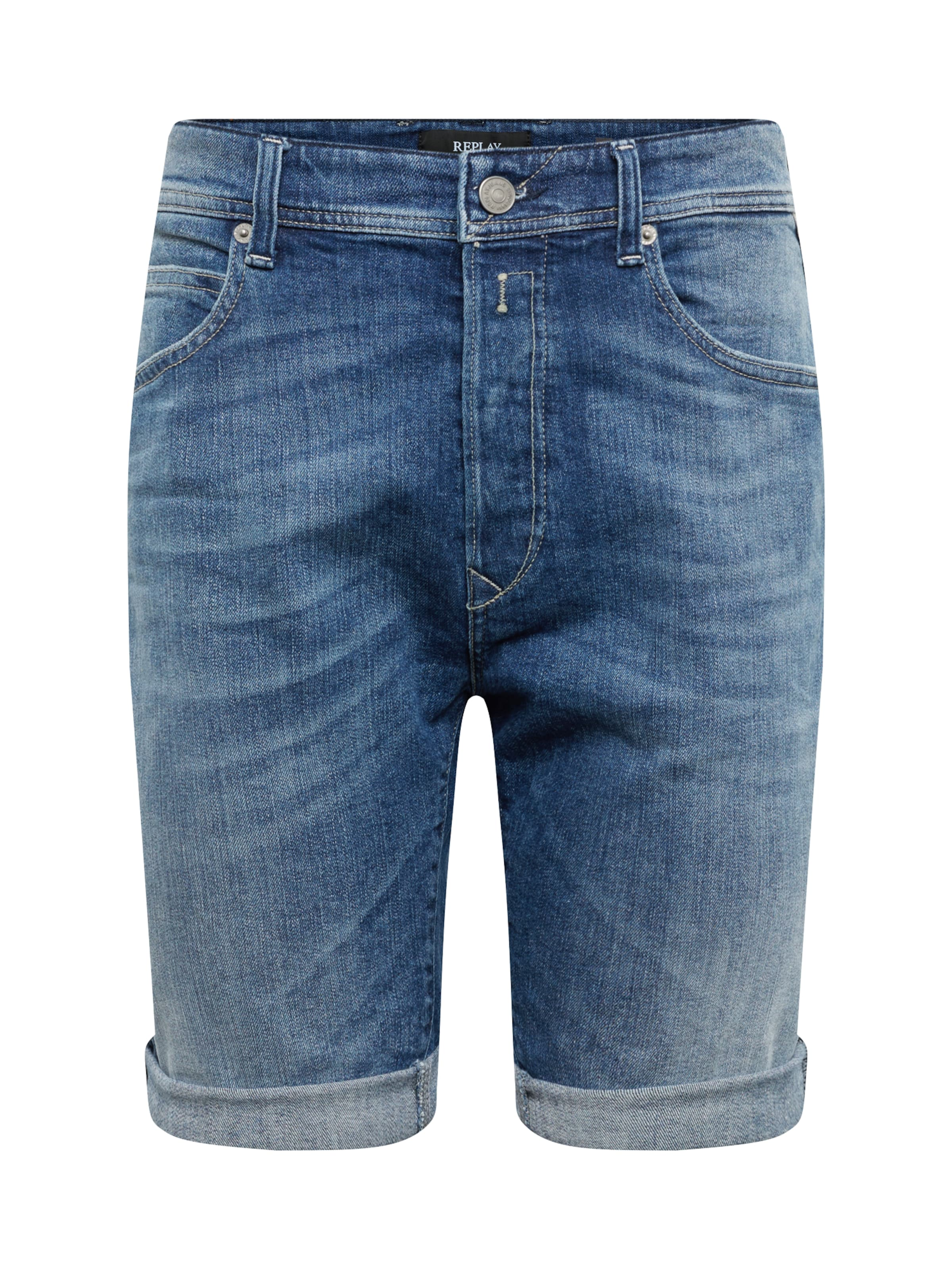 In In Denim Blue Jeansshorts Replay Replay Jeansshorts fY7gmIby6v