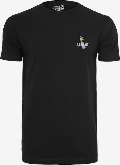 Mister Tee Shirt 'Absolit' in de kleur Zwart, Productweergave