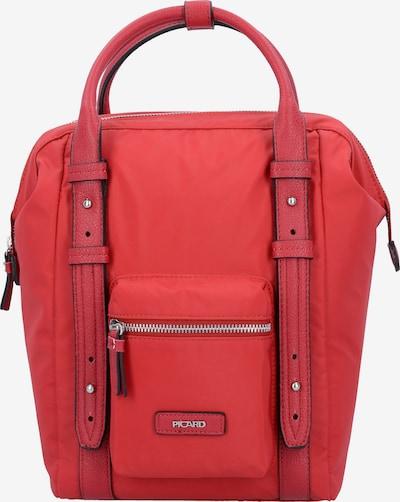 Picard Sac à dos en rouge, Vue avec produit