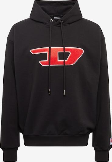 piros / fekete / fehér DIESEL Tréning póló 'S-DIVISION-D', Termék nézet