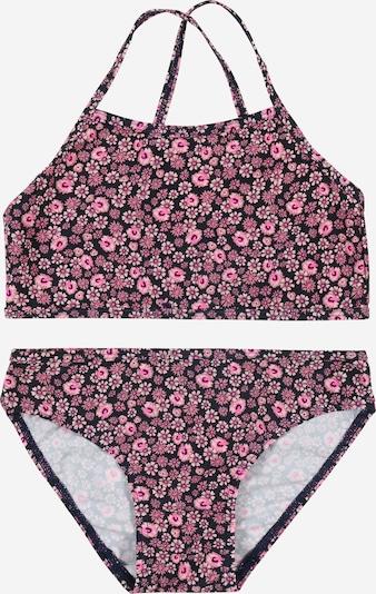NAME IT Bikini 'Zummers' in de kleur Rosa / Zwart, Productweergave