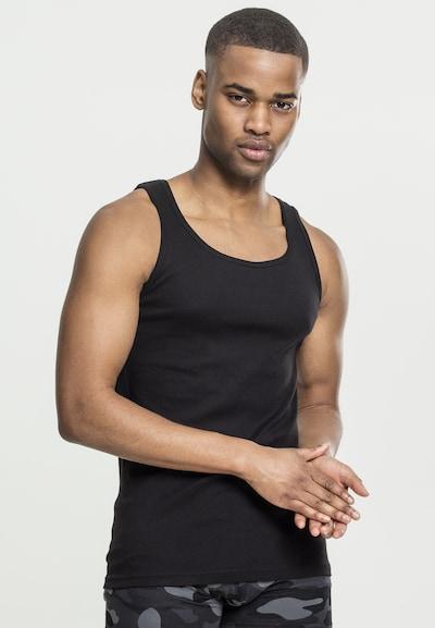 Urban Classics Maillot de corps en noir, Vue avec modèle