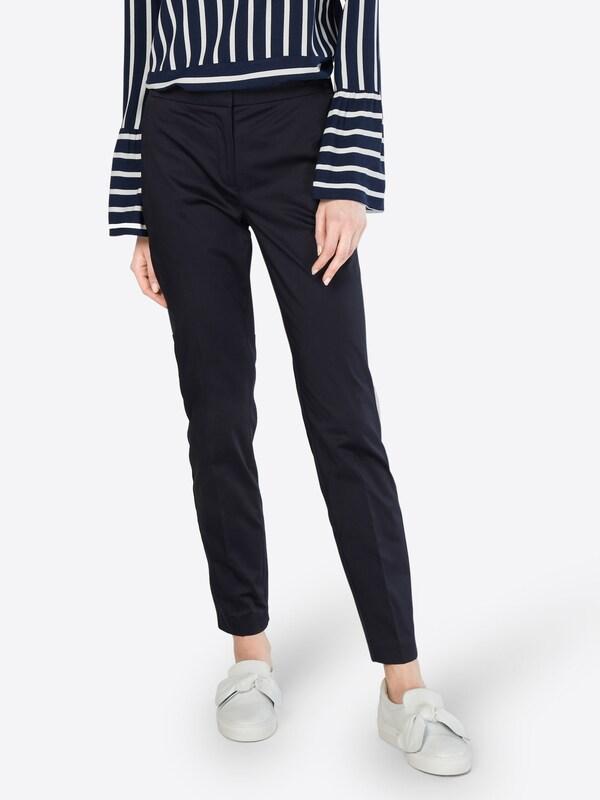 Marine Pantalon Plis À En Comma hQtrBdCxs