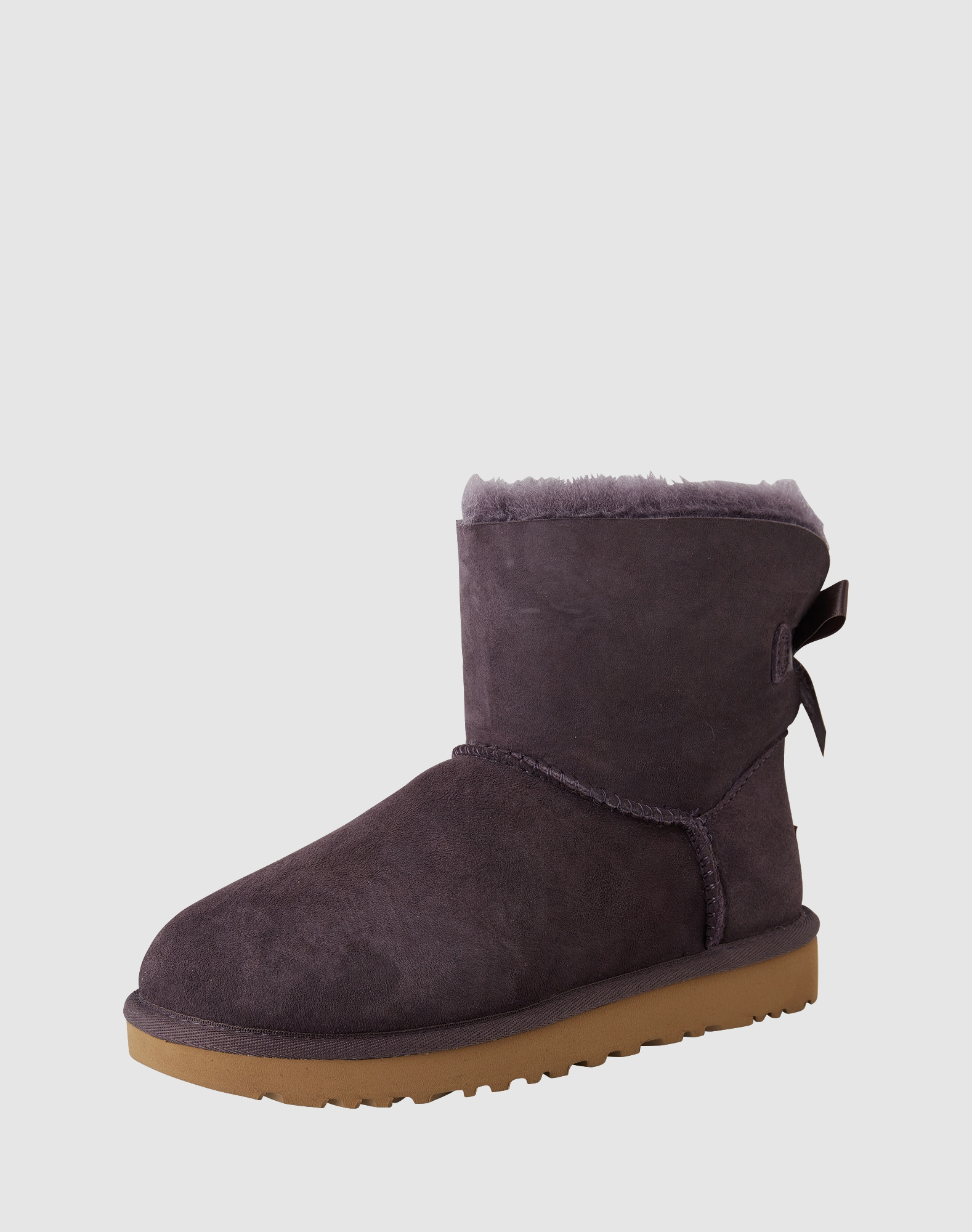 ugg boots mit fell f tterung 39 mini bailey bow ii 39 in blau about you. Black Bedroom Furniture Sets. Home Design Ideas