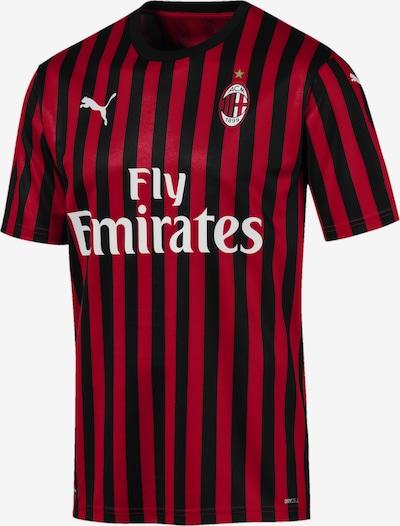 PUMA Tricot 'AC Milan' in de kleur Rood / Zwart / Wit, Productweergave