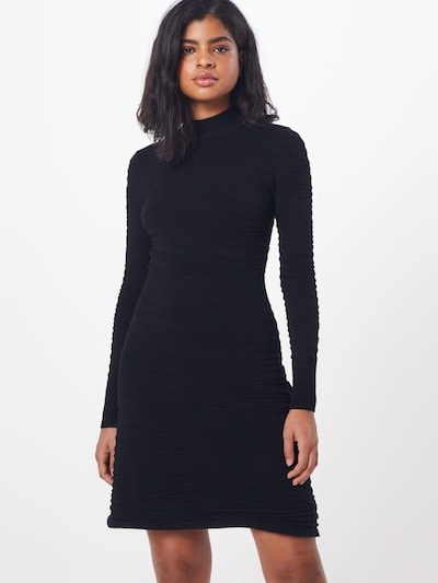 HUGO Kleid 'Sumeeya' in schwarz, Modelansicht
