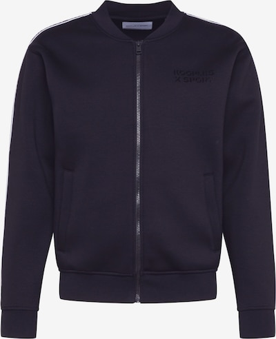THE KOOPLES SPORT Sweatjacke in schwarz / weiß, Produktansicht