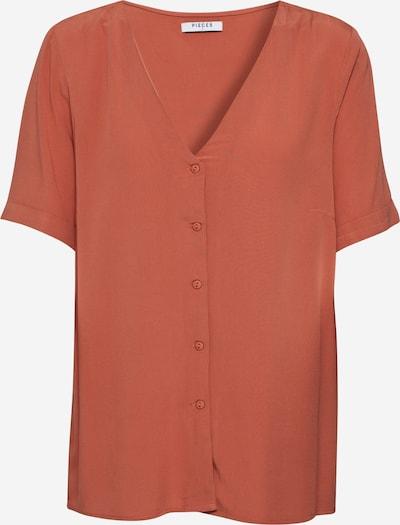 PIECES Bluzka 'CECILIE' w kolorze rdzawobrązowym, Podgląd produktu