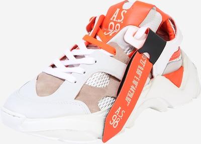 A.S.98 Sneaker 'MONSTER' in beige / orange / weiß, Produktansicht