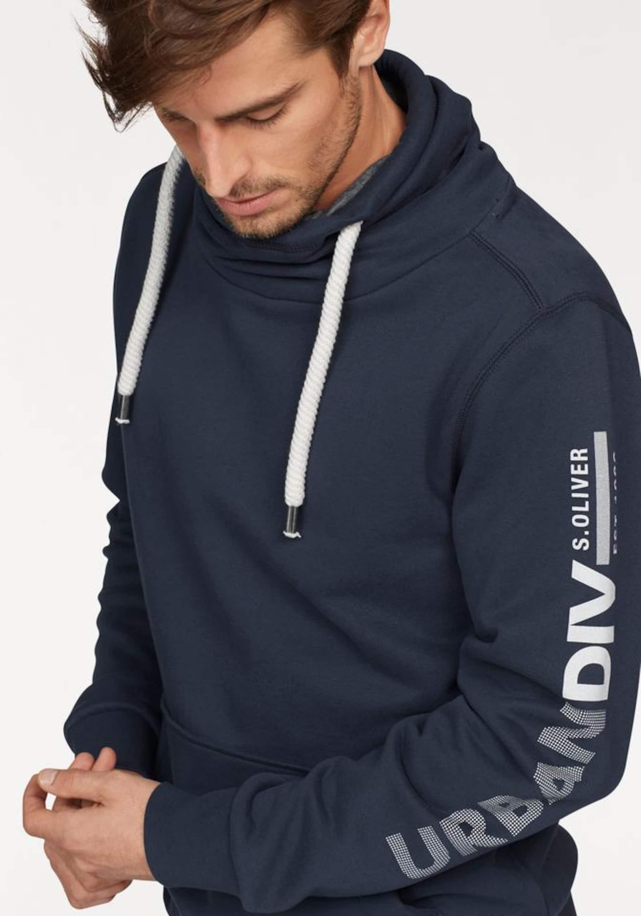 Rabatt Exklusiv Grau-Outlet-Store Online s.Oliver RED LABEL Sweatshirt Billig Authentisch Finden Große Günstig Kaufen Besten Verkauf 10W4nzGIc