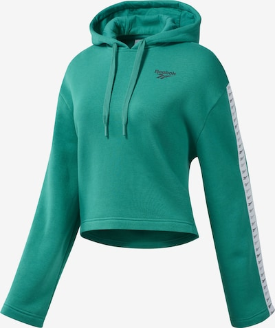 Reebok Classics Jacke 'Classics Vector Hoodie' in grün, Produktansicht