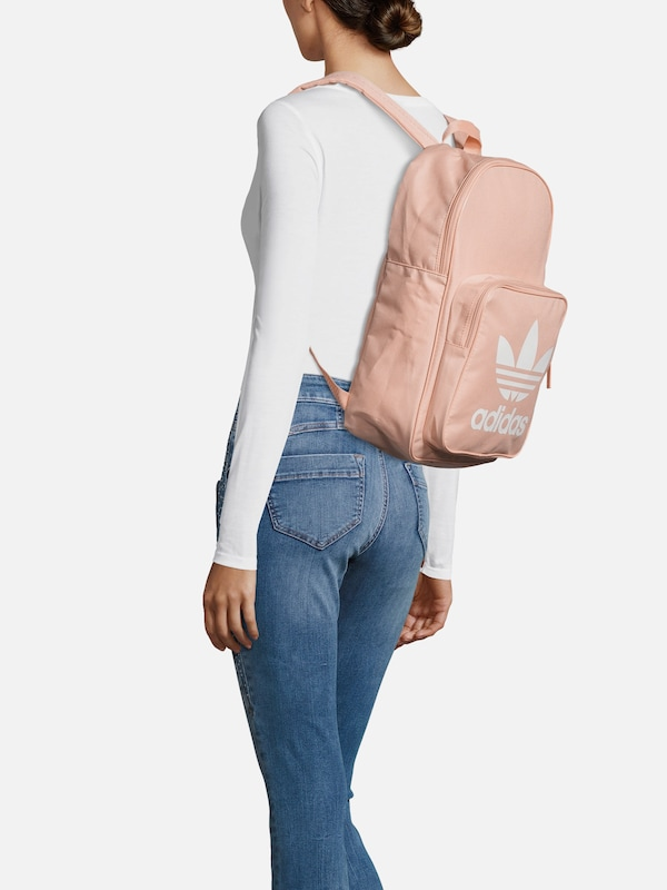 ADIDAS ORIGINALS Rucksack 'BP CLAS TREFOIL' in rosa | ABOUT YOU