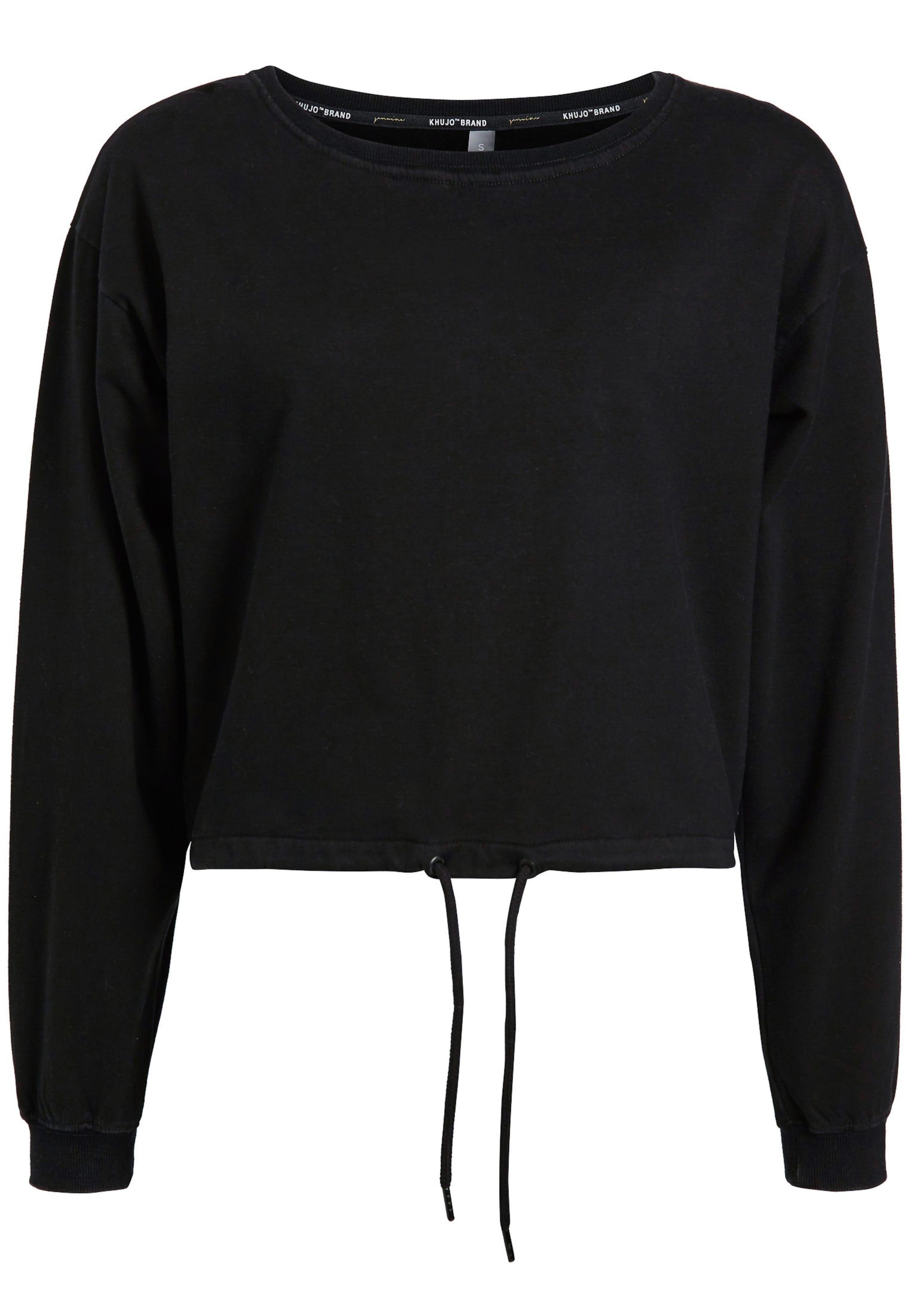 Sweatshirt LichtgrijsZwart 'alina' 'alina' In Sweatshirt Khujo Khujo T13FKJluc
