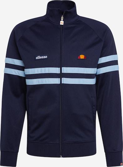 ELLESSE Tepláková bunda 'Rimini' - námornícka modrá / svetlomodrá, Produkt