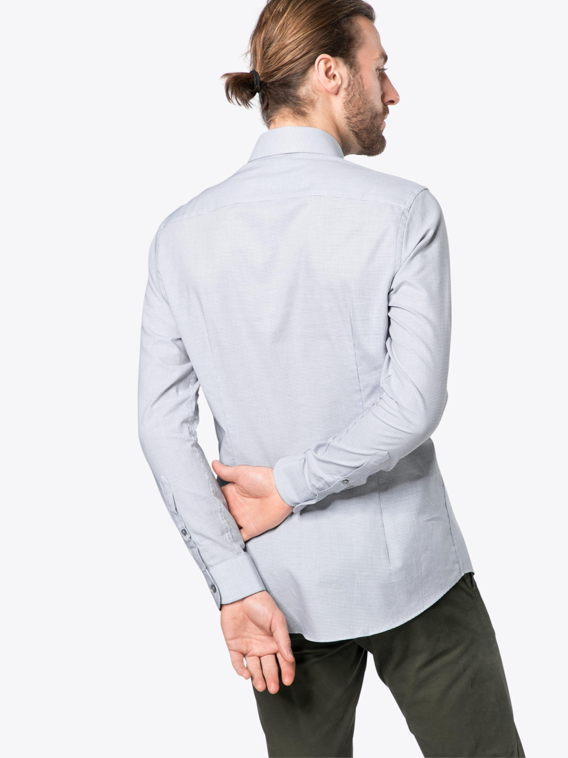 Esprit Collection Hemd 'tonal dobby ls' Billig Offiziellen bOAjLLO