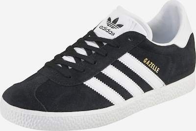 ADIDAS ORIGINALS Sneaker 'Gazelle Junior' in schwarz / weiß, Produktansicht