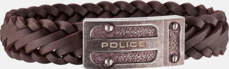 POLICE Armband 'CENTAUR, PJ26057BLEBR.03-L'