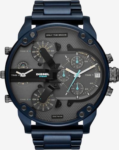 DIESEL Uhr  'DZ7414' in dunkelblau / schwarz, Produktansicht