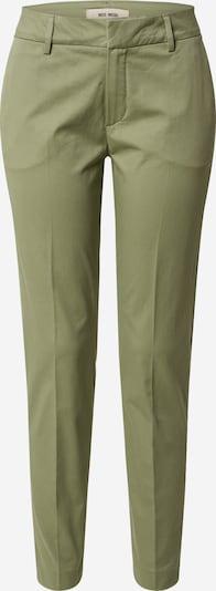 MOS MOSH Pantalon 'Abbey Cole Pant' en vert foncé, Vue avec produit