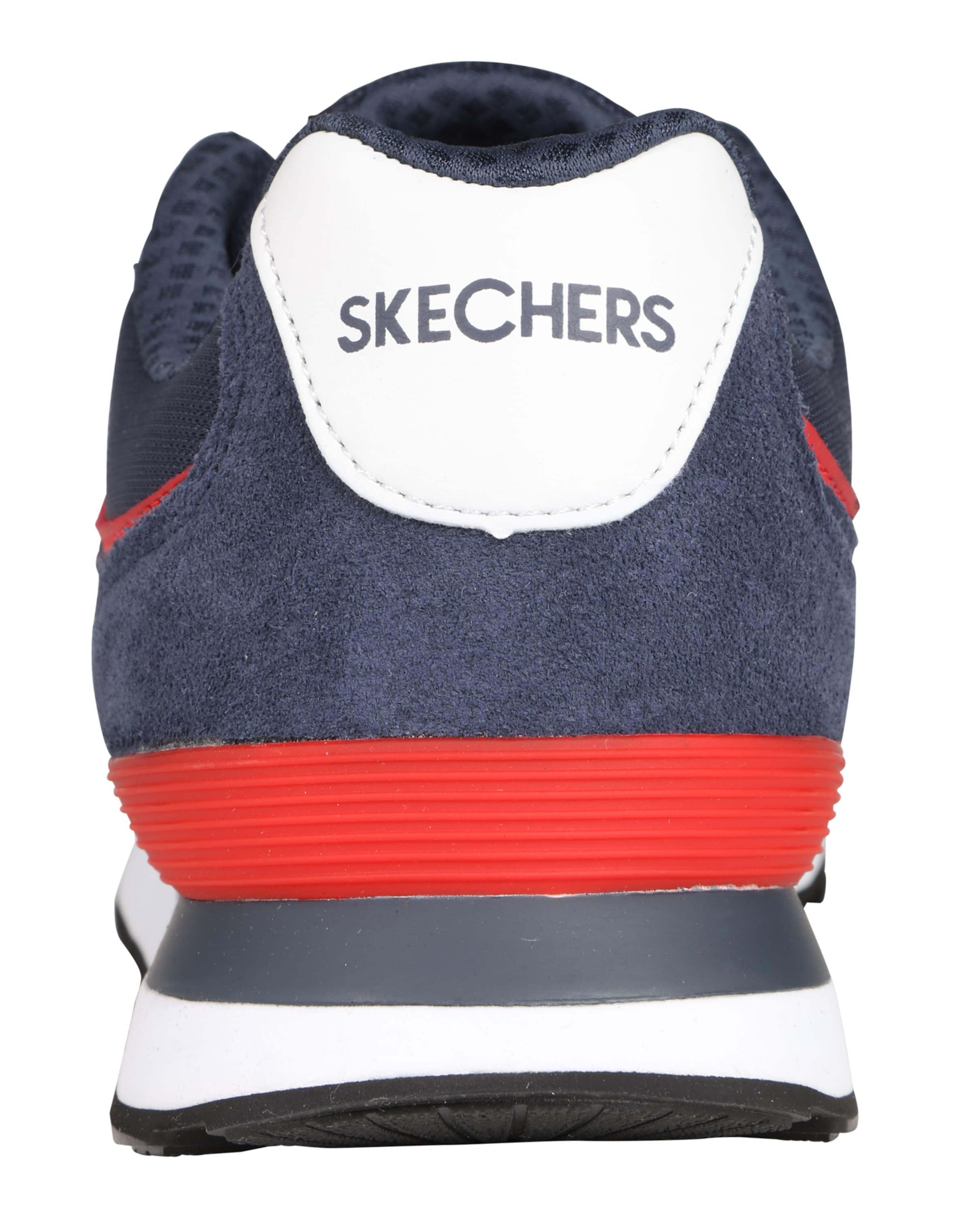 SKECHERS SKECHERS SKECHERS Turnschuhe Leder, Textil Wilde Freizeitschuhe 1a9f3f