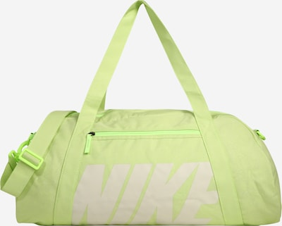 NIKE Sac de sport 'GYM CLUB' en vert pastel / blanc, Vue avec produit