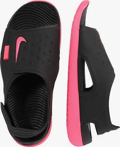 NIKE Sandale 'Sunray Adjust 5' in schwarz: Seitenansicht