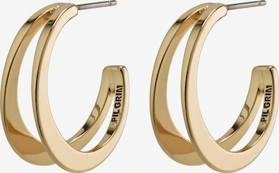 Pilgrim Ohrringe 'Nada' in gold / schwarz, Produktansicht