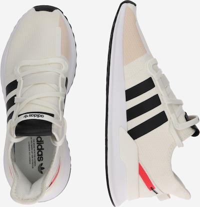 ADIDAS ORIGINALS Sneaker 'U_Path Run' in rot / schwarz / weiß: Seitenansicht