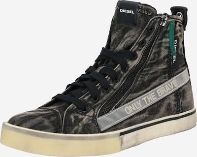 DIESEL Sneakers high in grey / black, Item view