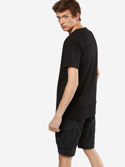 Mister Tee T-Shirt 'Snake' in mischfarben / schwarz: Rückansicht