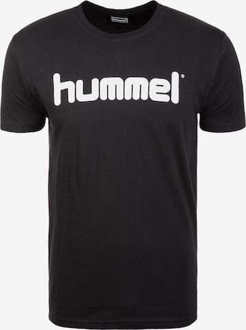 Hummel Trainingsshirt in Schwarz