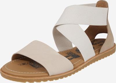 Sandale 'ELLA' SOREL pe bej / alb, Vizualizare produs