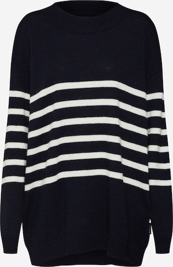 Ezekiel Pull-over oversize 'Laurie Oversize Knit Sweater' en bleu marine, Vue avec produit