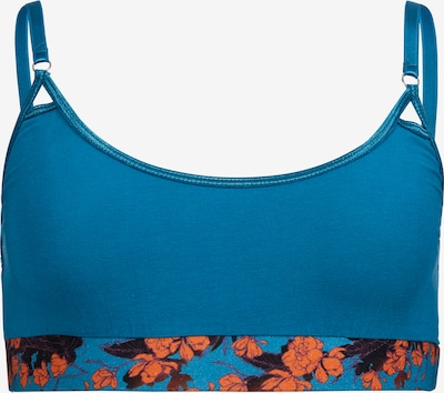 VATTER 'Peppy Paula' Bustier in royalblau / orange, Produktansicht