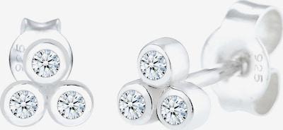 Diamore Oorbellen 'Kreis' in de kleur Zilver, Productweergave