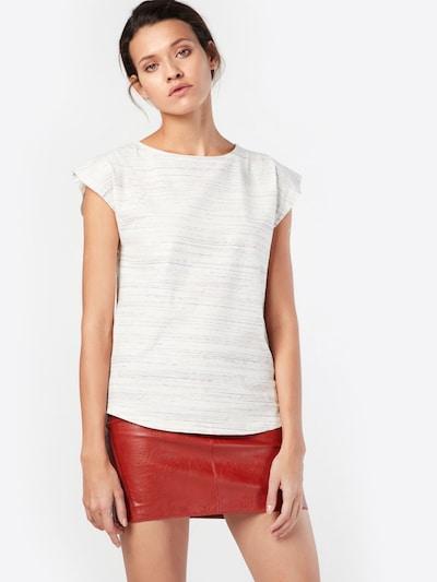 Forvert Shirt 'Marie' in beige / helllila / dunkellila: Frontalansicht