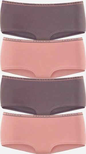 LASCANA Panty in grau / altrosa, Produktansicht