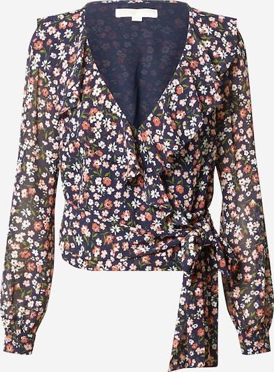 MICHAEL Michael Kors Blouse 'Garden Patch' in de kleur Beige / Gemengde kleuren / Koraal / Perzik / Pink, Productweergave