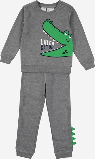 Carter's Set 'later gator' en gris chiné, Vue avec produit