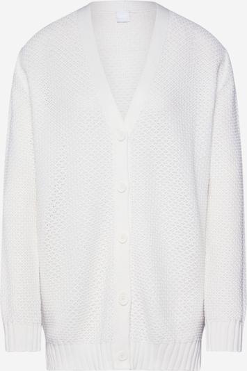 BOSS Gebreid vest 'Itimai' in de kleur Wit, Productweergave