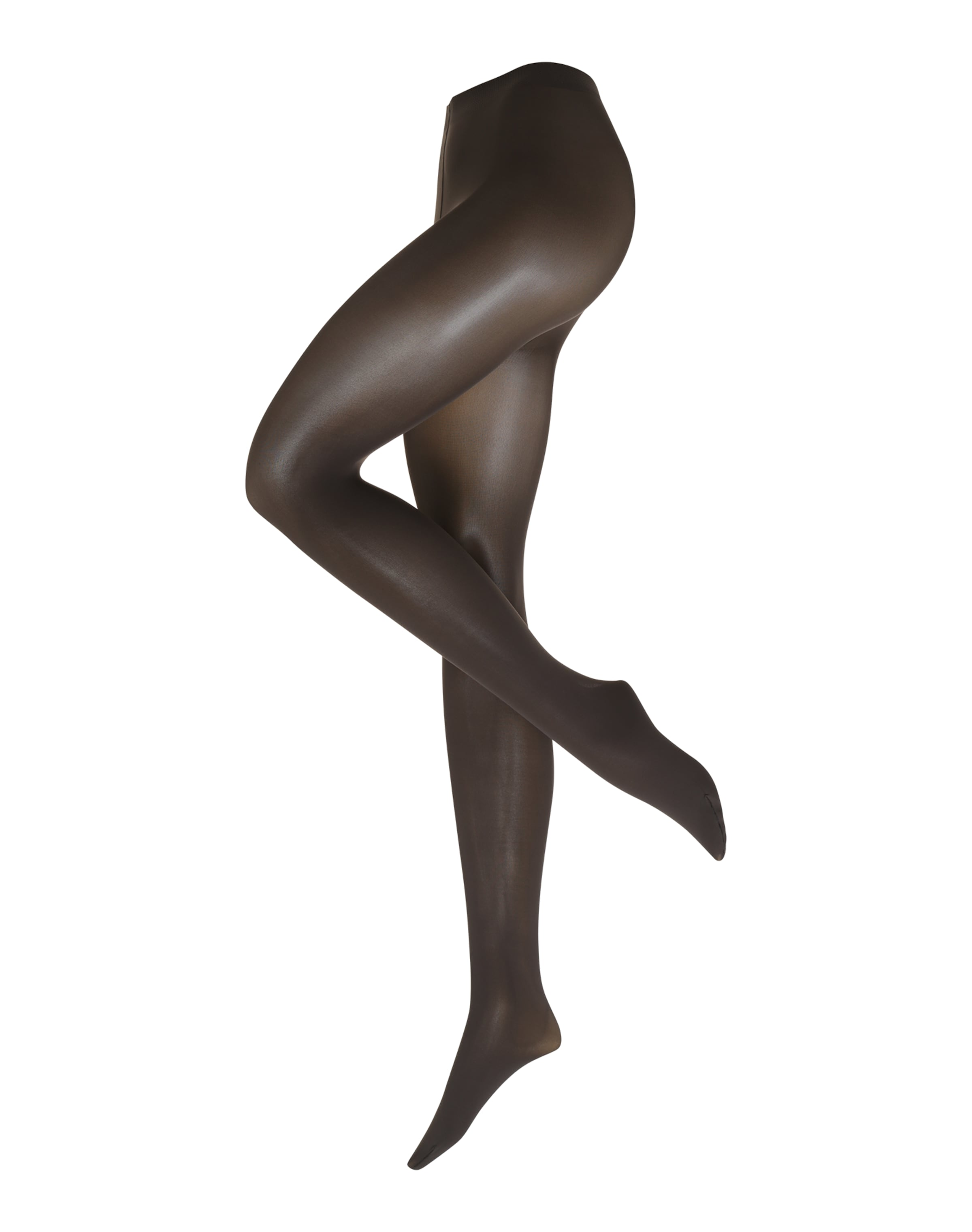 FALKE Nylonstrumpbyxa 'Pure Matt 50 DEN' i brun
