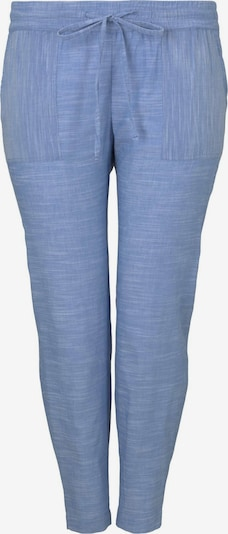MY TRUE ME Chambray Hose in blau, Produktansicht